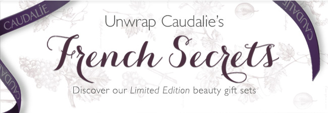 Unwrap Caudalie's French Secrets: Discover our Limited Edition beauty gift sets