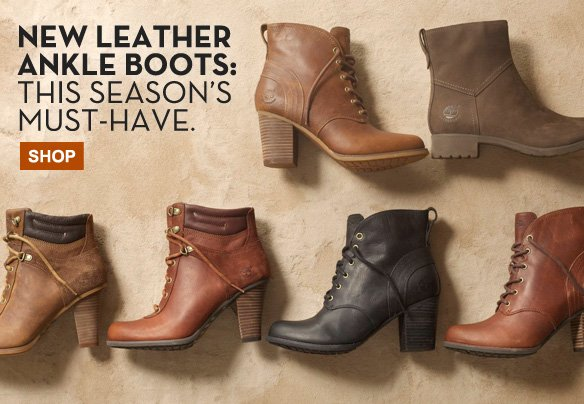 New Leather Ankle Boots: This Season's Must-Have. Shop.