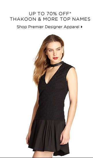 Up To 70% Off* Thakoon & More Top Names
