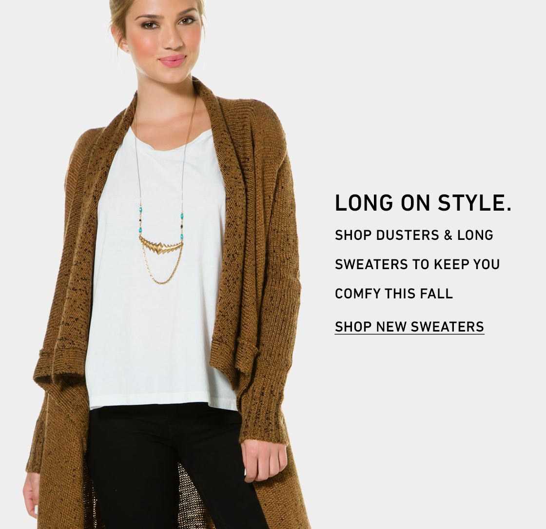 New Fall Sweaters