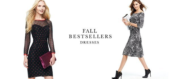 FALL BESTSELLERS: DRESSES, Event Ends October 6, 4:00 PM PT >