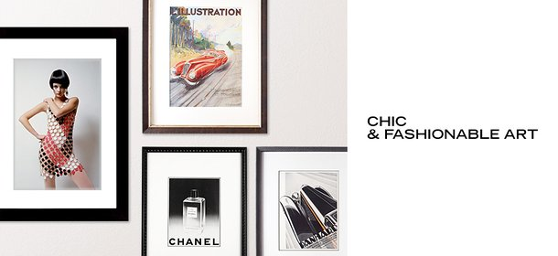 CHIC & FASHIONABLE ART, Event Ends October 6, 9:00 AM PT >