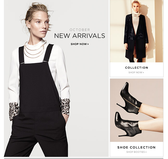New For October: Shop Women's New Arrivals
