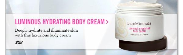 Luminous Hydrating Body Cream