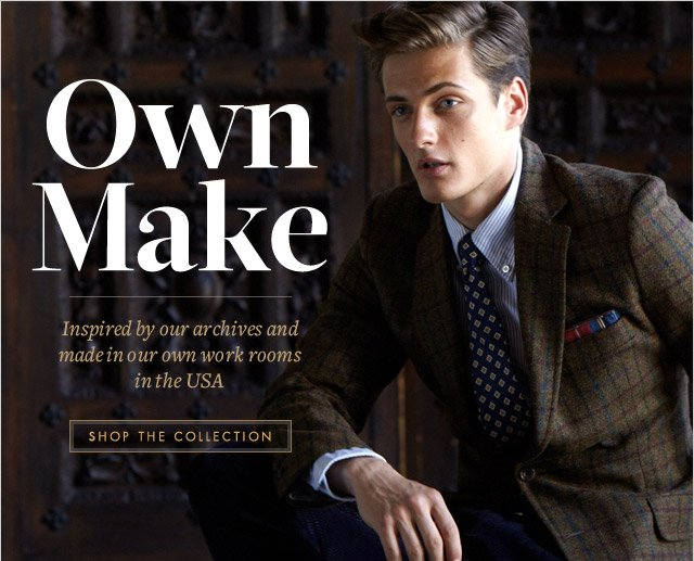 OWN MAKE - SHOP THE COLLECTION