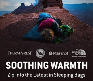 Sleeping Bags From Our Top Brands