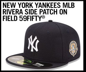 Shop New York Yankees MLB Rivera Side Patch On Field 59FIFTY
