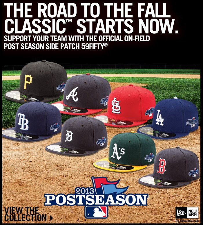 Shop the Official MLB On-Field Postseason Collection