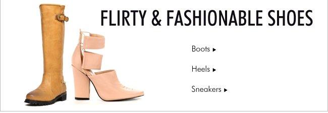 Flirty & Fashionable Shoes