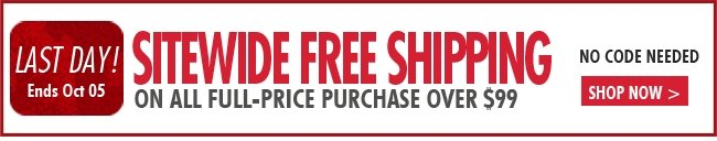 last day free shipping