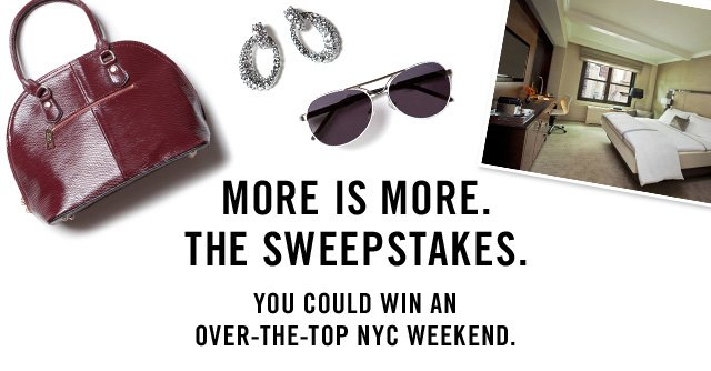 Thanks for entering the Hop the Pond Sweepstakes. Now claim your ticket to style.