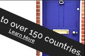 We ship to over 160 Countries. Learn More