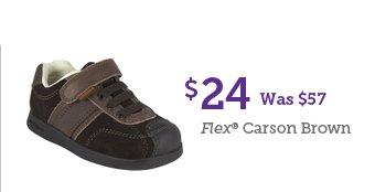 $24 Was $57 Flex Carson Brown