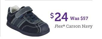 $24 Was $57 Flex Carson Navy