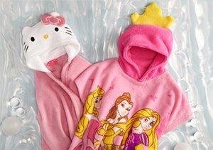Hello Kitty, Princess & Minnie: Girl's Wraps