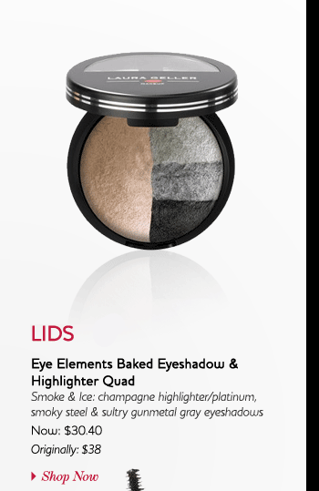 2: Apply Eye Elements Baked Eyeshadow & Highlighter Quad