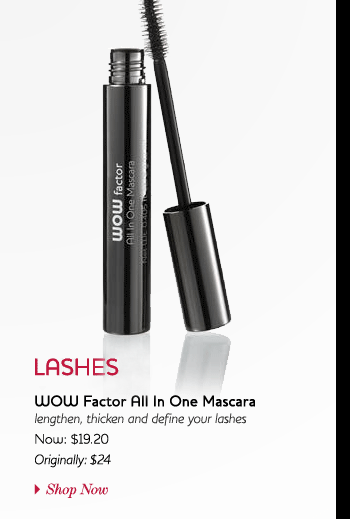 4: Apply WOW Factor All In One Mascara