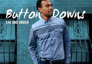 Shop Long Sleeve Button-Downs Under $40