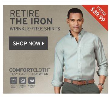 Men's Wrinkle-Free Shirts