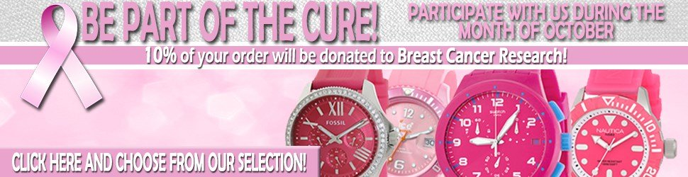 Be part of the Cure - Help MrWatch donate to Breast Cancer Research!