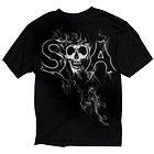 Sons of Anarchy Mens SAMCRO Reaper Smoke T-Shirt
