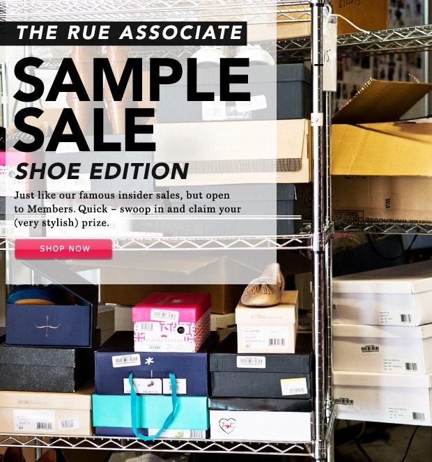 Rue Associate Sample Sale: Shoe Edition