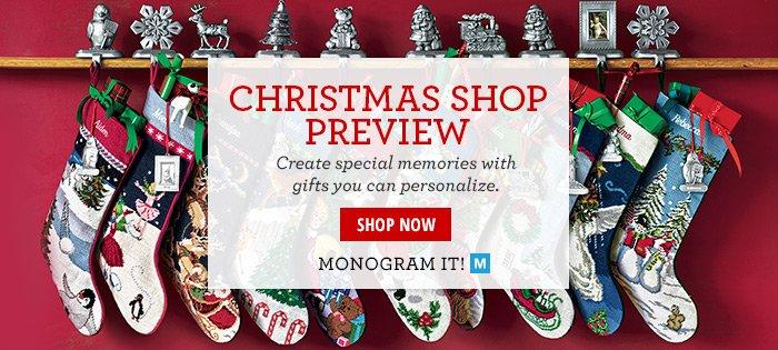 Christmas Shop Preview