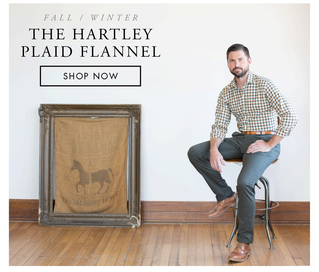 The Hartley Plaid Flannel
