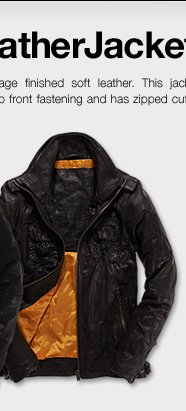 The Ryan Leather Jacket