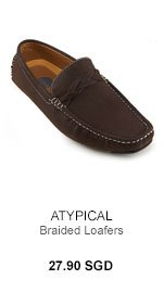 Atypical Braided Loafers