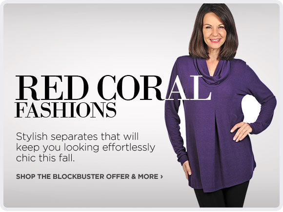 Red Coral Fashions - Shop Now!