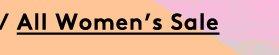 all women's sale