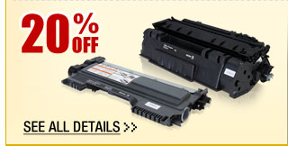 20% OFF ALL XEROX REPLACEMENT TONERS!*