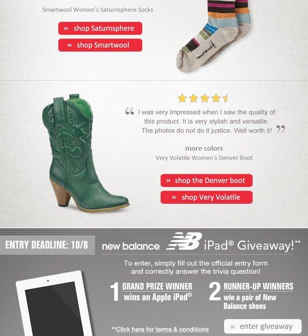 Top-Rated Footwear!