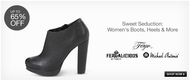 Sweet Seduction: Women's Boots, Heels and More