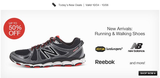 New Arrivals: Running and Walking Shoes