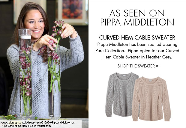 Download Images:  As Seen on Pippa Middleton