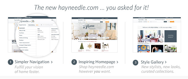 Hayneedle.com Enhancements