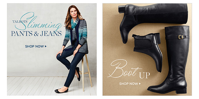 Talbots Slimming Pants and Jeans. Shop Now.