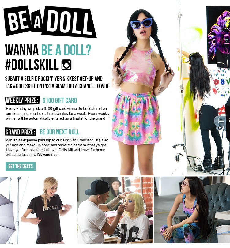 Be A Doll Contest