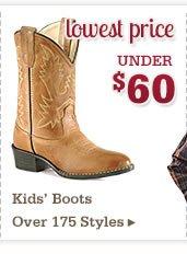 Kids Boots Under 60