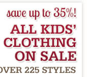 Kids Clothing on Sale