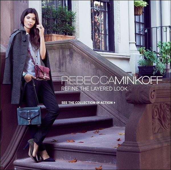 Rebecca Minkoff refines the layered look. >>