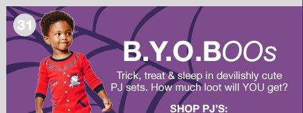 B.Y.O.BOOs | SHOP PJ'S