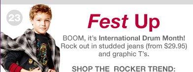 Fest Up | SHOP THE ROCKER TREND: