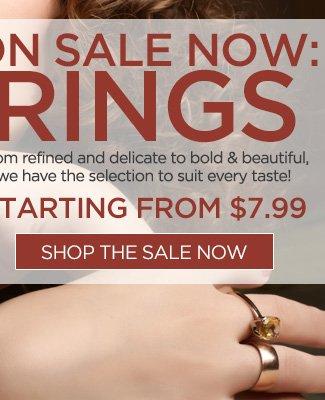 Ring Sale