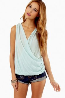 CROSS MY LACE BACK TOP 30
