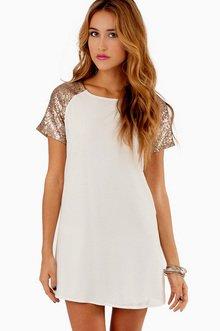 EMBELLISH ME SHIFT DRESS 36