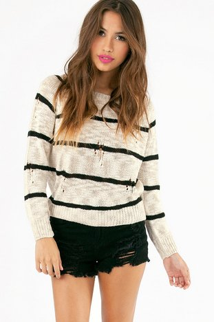 COLLEGE RULED SWEATER 37