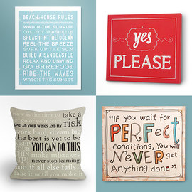 Word Play: Home Décor